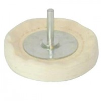 Toolzone 100mm Cloth Polishing Mop Wheel