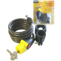 Rolson Bicycle Cable Lock with Bracket