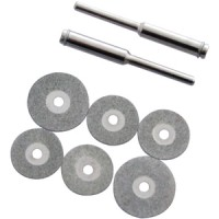 Toolzone 6pc Diamond Cutting Disc Set