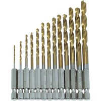 Am-Tech HSS Drill Set Hex Shank 13pc