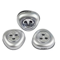 Rolson 3pc 3 LED Push Lights
