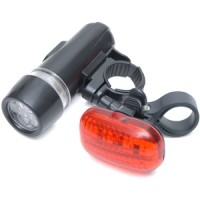 Rolson Two Piece LED Bicycle Light