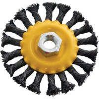 Am-Tech Twist Knot Wire Wheel