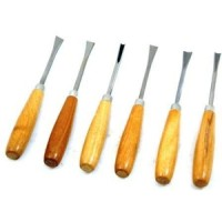 Toolzone 6pc Carving Chisel Set