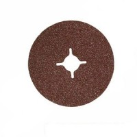 Silverline 10pc 24 Grit, 125 x 22.2 mm Fibre Discs