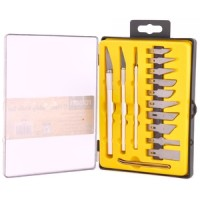Rolson 17pc Hobby Knife Set