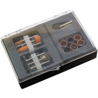 Am-Tech 13pc Rust Removal Mini Drill Set