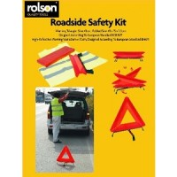 Rolson Warning Triangle & Hi Vis Vest