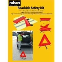 Rolson Warning Triangle & Hi Vis Vest