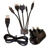 5 in 1 Multi Phone and USB Charger