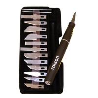 Rolson 15pc Hobby Craft Knife Set