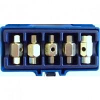 Toolzone 5pc Sump Plug Key Set