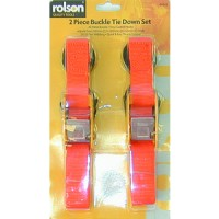 Rolson Buckle Tie Down Set