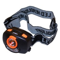 Rolson Head Lamp 1 Watt plus 4 LEDs