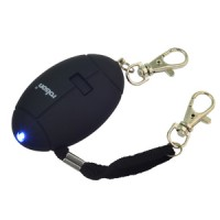 Rolson Personal Alarm with LED Light and Key Ring