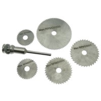 Am-Tech 6pc HSS Saw Discs