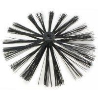 Toolzone 400mm Chimney Sweep Brush For Drain Rods