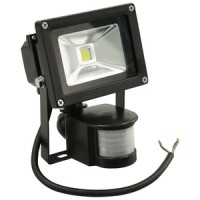 Rolson 10W LED PIR Flood Security Light
