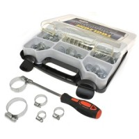 Toolzone 35pc Stainless Steel Hose Clamp Set
