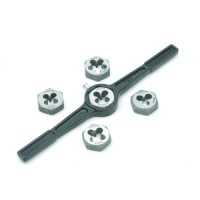 Toolzone Six Piece Metric Die & Holder Set