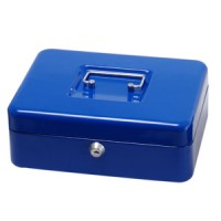 "Toolzone 8"" Blue Cash Box"