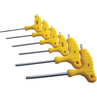 Am-Tech 6pc T Handle Torx Screwdriver Set