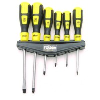 Rolson Six Piece Screwdriver Set