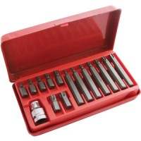 Am-Tech 15pc Torx Torque Bit Set