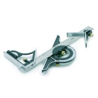 Rolson Combination Square & Protractor