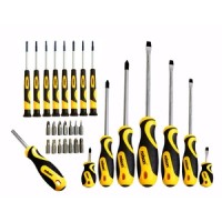 Rolson 30pc Screwdriver and Bit Set