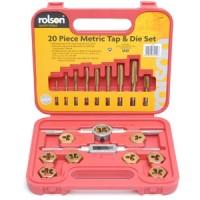 Rolson Metric Tap & Die Set