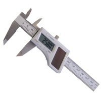 Rolson Stainless Steel Solar Powered Digital Vernier Caliper
