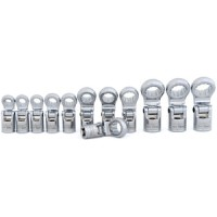 """Rolson 12pc 3/8"""" Dr. Flexi Offset Wrench Set"""