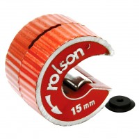 Rolson 15mm  Pipeslice - Copper Pipe Cutter with Spare Blade