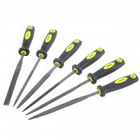 Rolson Six Piece Warding File Set with Rubber Cushion Grip