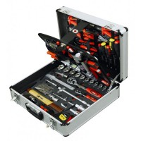 Rolson 127pc Tool Kit in Aluminium Case