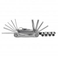 Rolson Folding Hex, Screwdiver & Socket Set