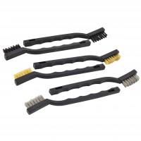 Toolzone Mini Wire Brush Set