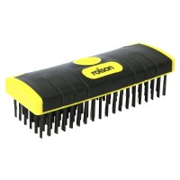 Rolson Soft Grip Steel Scrub Brush