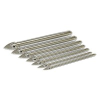 Rolson 7pc Glass & Tile Drill Bit Set
