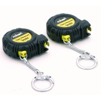 Rolson 2pc 1mtr Tape Measure