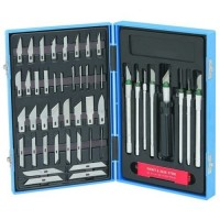 Toolzone 57pc Precision Hobby Knife Set