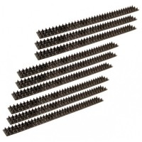 Rolson  9pc Fence & Wall Security Spike Set