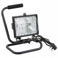 Rolson 500W Heavy Duty Portable Halogen Work Light