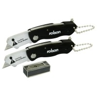 Rolson 2pc Mini Folding Knife