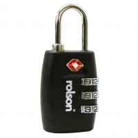 Rolson TSA Combination Luggage Padlock