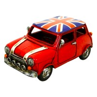 Kreatif Kraft Mini Cooper Hand Painted Metal Model