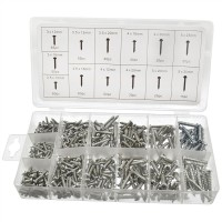 Toolzone 550pc Self Tapping Screw Assortment