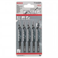 Bosch Wood Jigsaw Blades Bayonet T144DP Pack of 5