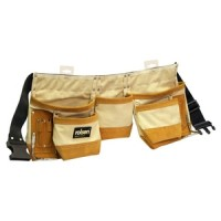 Rolson Cotton Canvas Double Tool Pouch